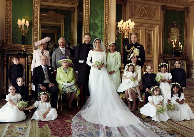 As fotos oficiais do casment de Meghan Markle e príncipe Harry (Foto: Reprodução/Instagram)