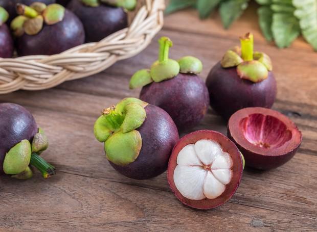 Frutas: Mangostão ou Mangostim (Foto: Thinkstock)