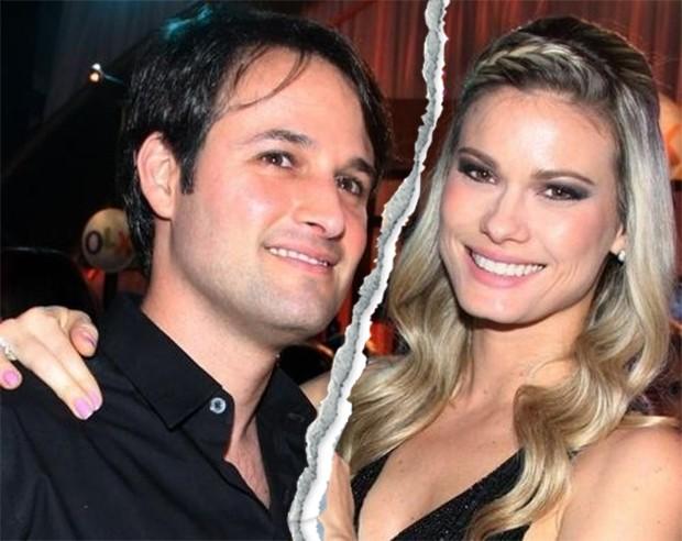 Rodrigo Medina e Karen Junqueira (Foto: Agnews)