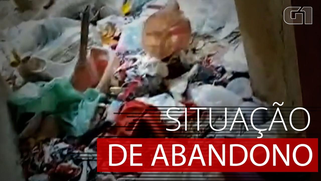 VÍDEO: Imagens mostram interior de casa onde crianças foram encontradas abandonadas em GO