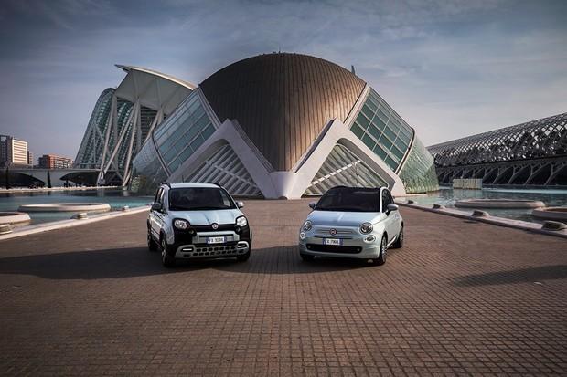 Fiat 500 e Fiat Panda Hybrid serão os primeiros a receber o sistema D-Fence (Foto: Divulgação)