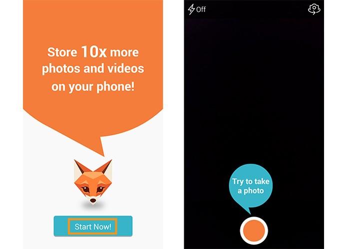 Comece a usar o FotoFox no Android (Foto: Reprodução/Barbara Mannara)