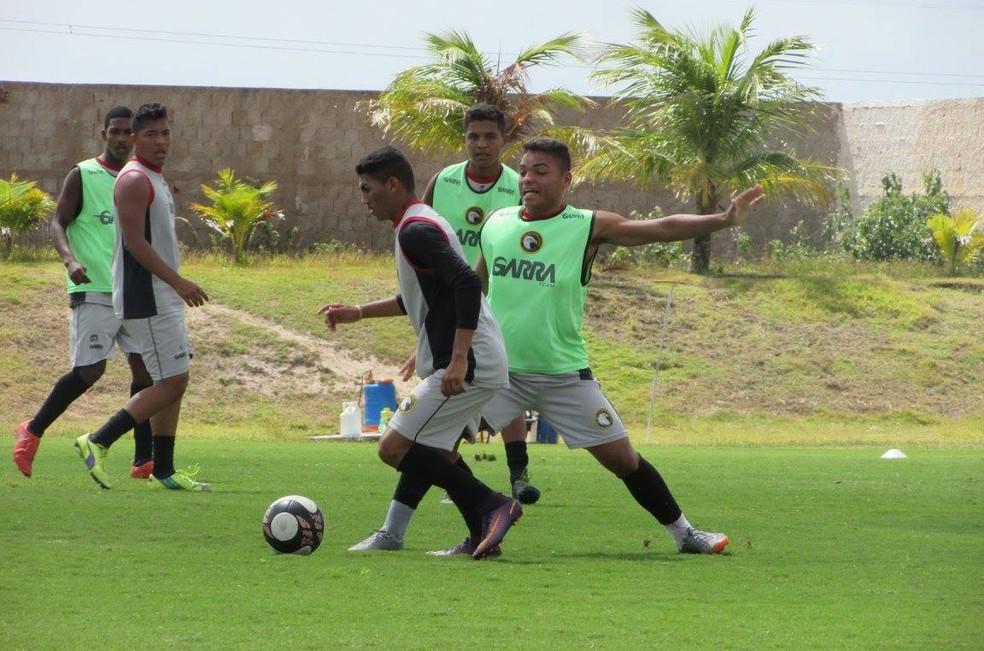 Globo FC finaliza preparação para encarar o ABC nesta quarta-feira (Foto: Rhuan Carlos/Globo FC)