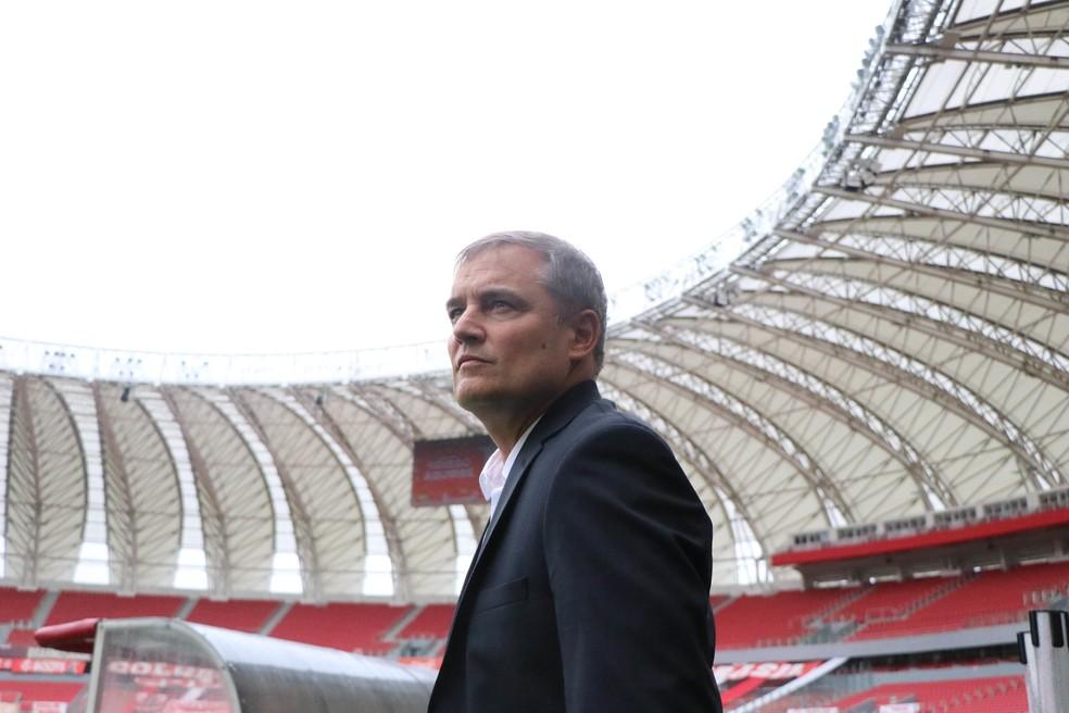 Diego Aguirre, técnico do Inter — Foto: Ricardo Duarte/Divulgação Inter