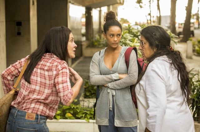 Adriana Esteves, Taís Araujo e Regina Casé, as protagonistas de 'Amor de mãe' (Foto: Globo)