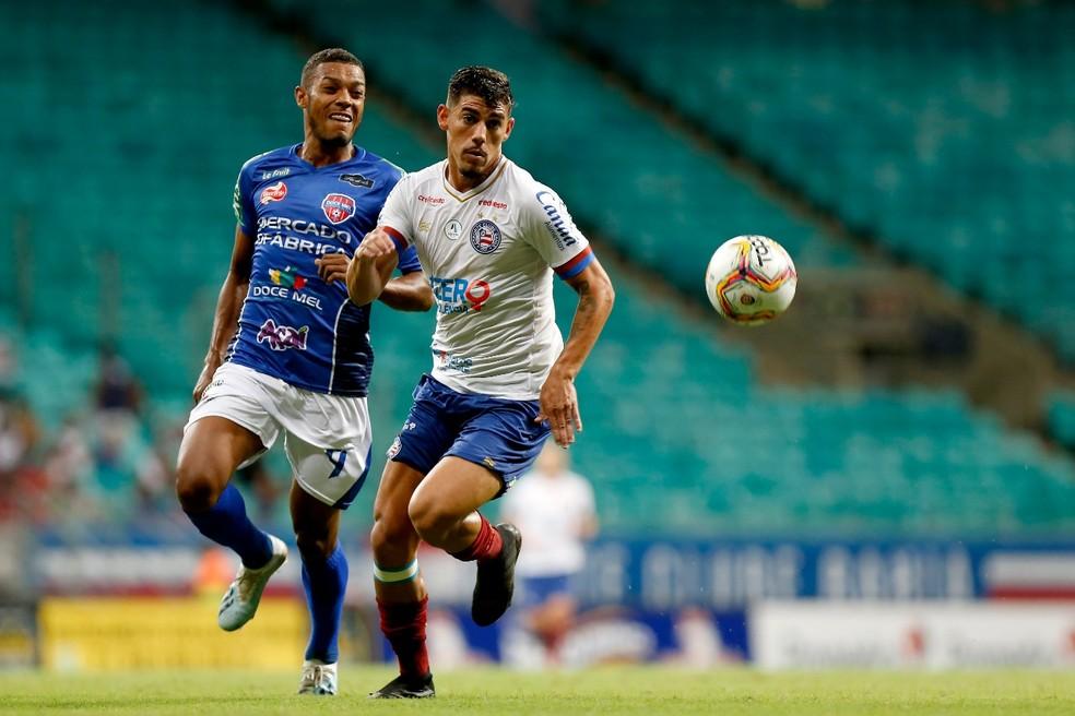 Bahia está na ponta no Campeonato Baiano — Foto: Felipe Oliveira/Divulgação/EC Bahia