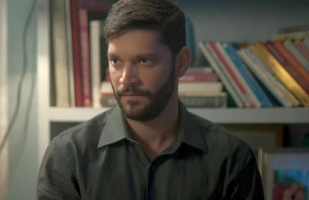 Na quinta-feira (21), Diogo (Armando Babaioff) armará um falso consultório para fazer terapia de casal com Nana (Fabiula Nascimento) (Foto: TV Globo)
