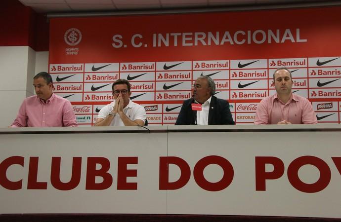 Entrevista departamento jurídico do Inter (Foto: Diego Guichard/GloboEsporte.com)