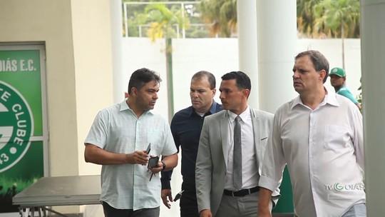 TV Goiás - Harlei Menezes e Túlio Lustosa retornam ao Goiás como dirigentes