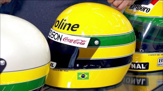 Giro Motor: ateliê brasileiro criou as pinturas de capacetes mais icônicas da F1