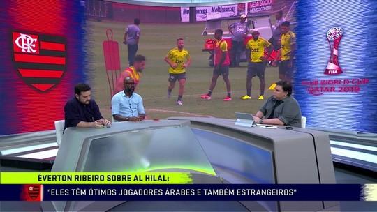 """Grafite elogia futebol do Oriente Médio e avalia Al Hilal: """"Flamengo não vai ter vida fácil"""""""