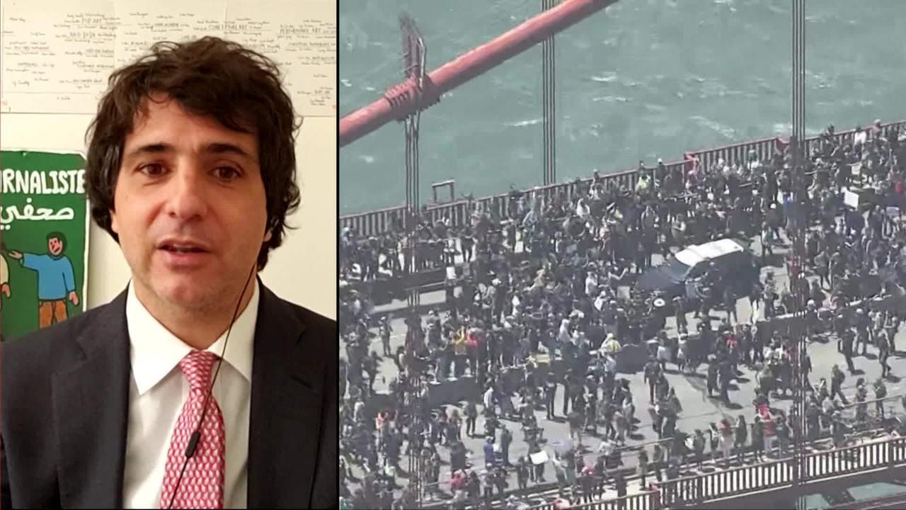 Guga Chacra: 'Manifestações nos EUA são estritamente jovens'