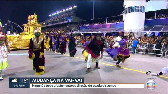 Neguitão anuncia afastamento da presidência da Vai-Vai