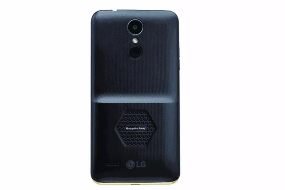 Celular LG K7i anunciado para o mercado indiano (Foto: Divulgação/LG)