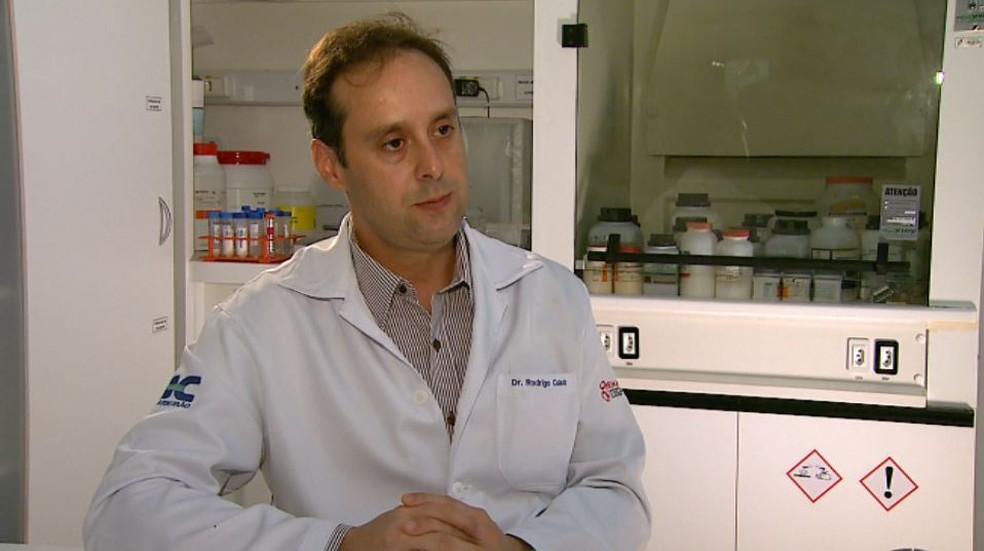 Rodrigo Calado, pesquisador da Faculdade de Medicina da USP de Ribeirão Preto (Foto: Antonio Luiz/EPTV)