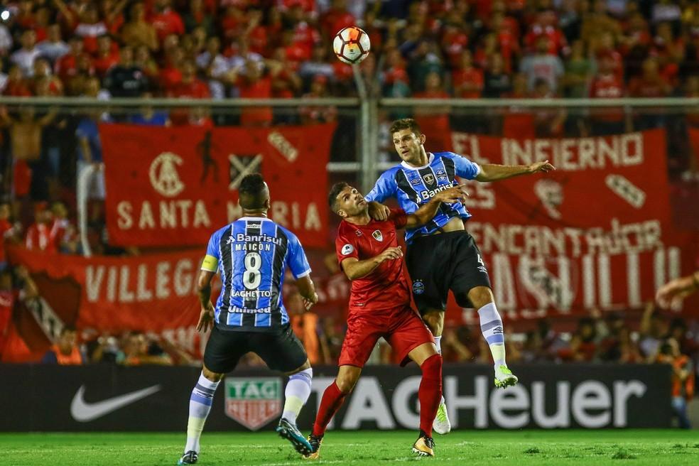 Kannemann interessa ao Independiente — Foto: Lucas Uebel/Divulgação Grêmio