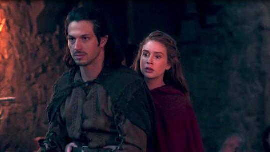 Amália descobre que Afonso é príncipe de Montemor