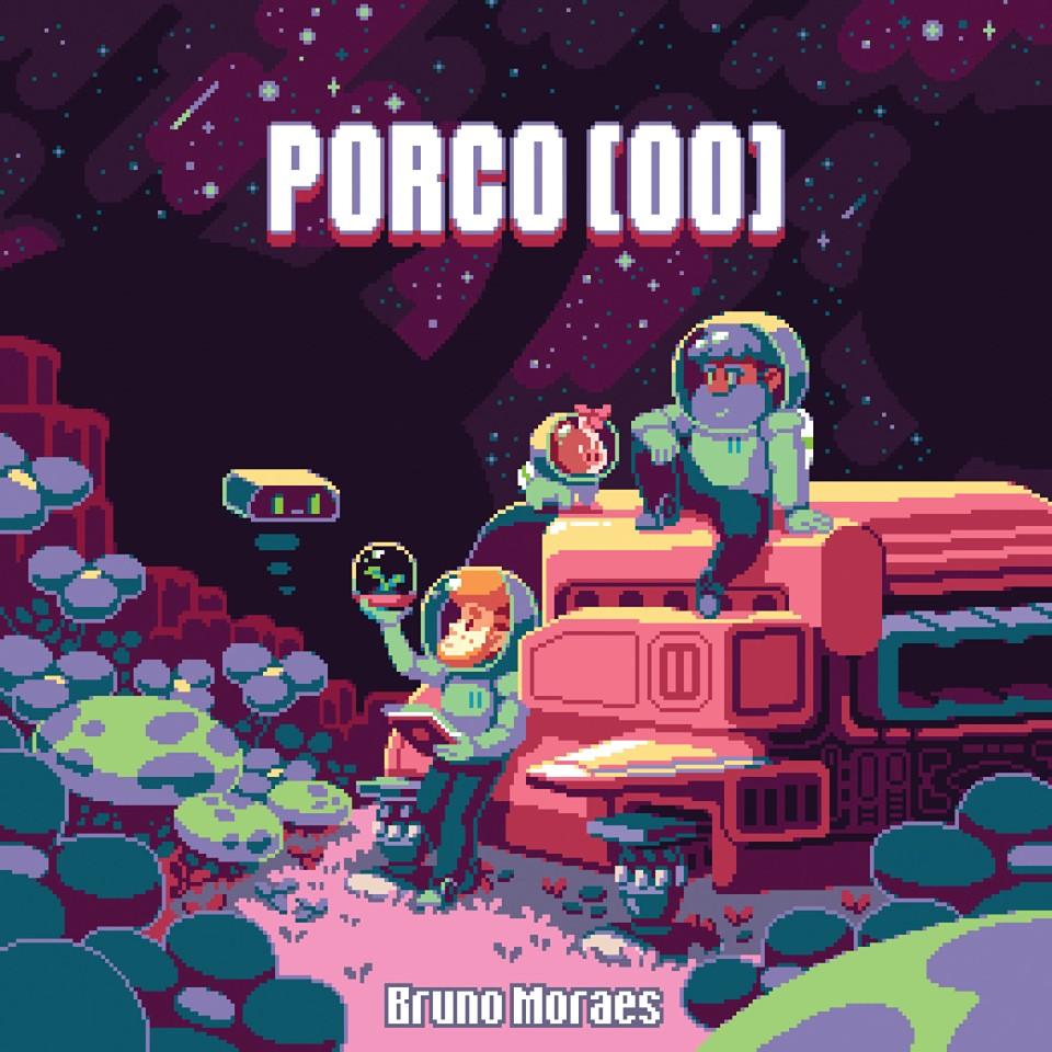 """Livro """"Porco (00)"""", por Bruno """"Pixels"""" Moraes  (Foto: Bruno Pixels)"""
