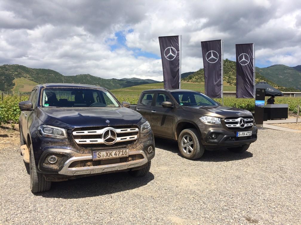 Mercedes irá vender todas as versões da Classe X no Brasil (Foto: Peter Fussy/G1)