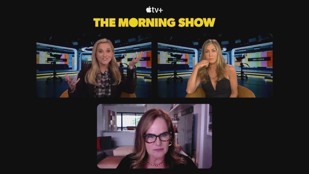 Jennifer Aniston e Reese Witherspoon contam detalhes da nova temporada da série 'The Morning Show'