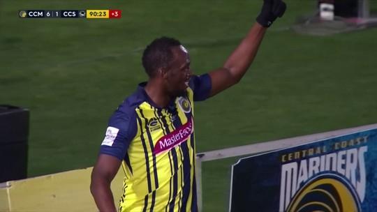 Bolt estreia no futebol australiano