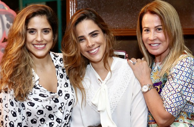 Camilla, Wanessa e Zilu (Foto: Manuela Scarpa/Brazil News)