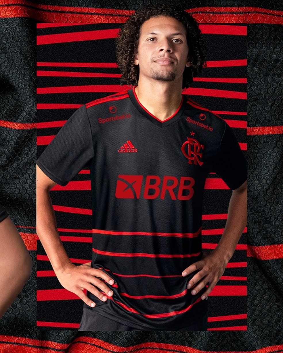 Terceira camisa Flamengo Willian Arão — Foto: Divulgação