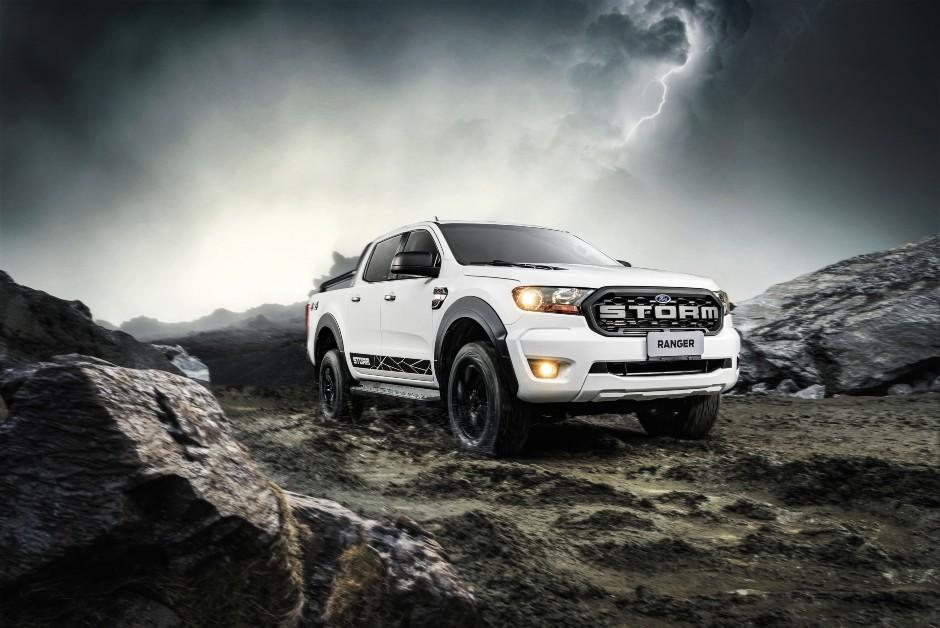 Ford Ranger Storm - Frente (Foto: Divulgação)