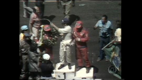 Com pódio rústico, Interlagos teve 1ª dobradinha brasileira na F-1 há 40 anos