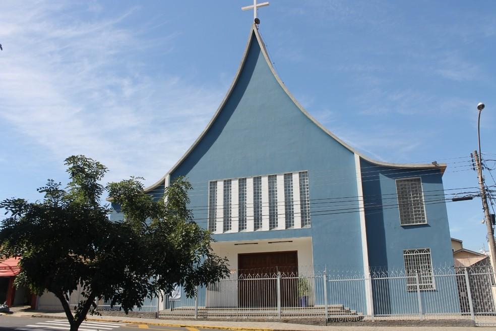 Igreja de Nossa Senhora Aparecida em Piracicaba — Foto: Arquivo/Diocese de Piracicaba
