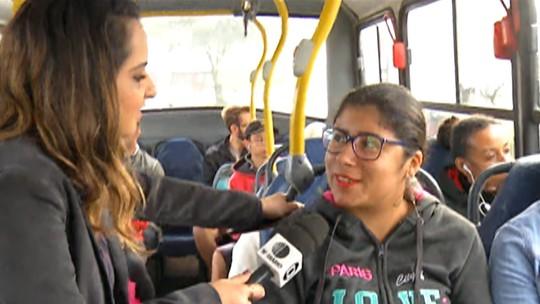 Passageiros reclamam da qualidade dos ônibus de Mogi das Cruzes