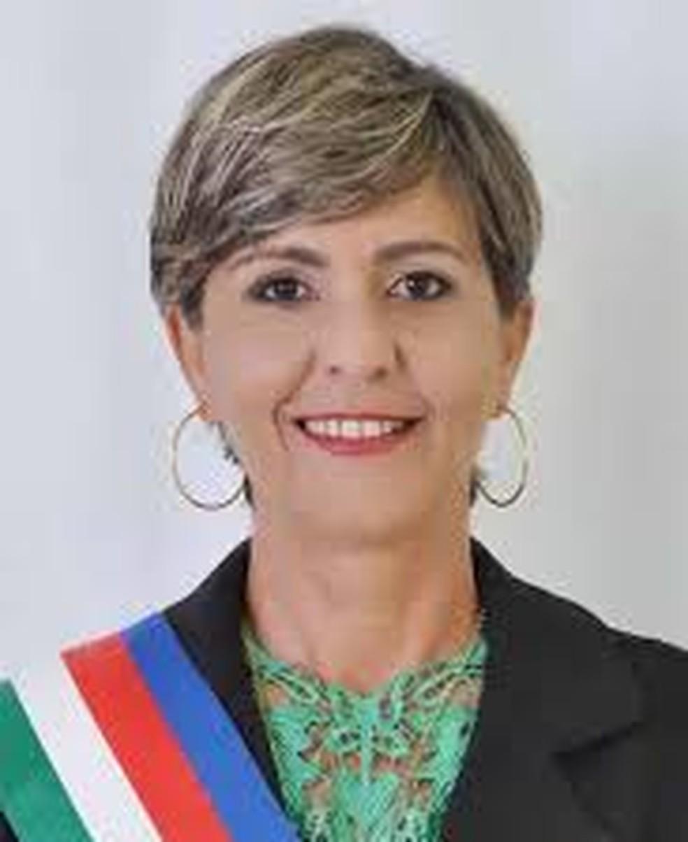 Carmen Martines foi eleita prefeita — Foto: Divulgação