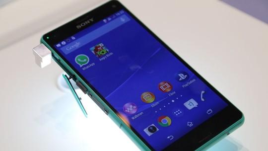 Testamos o Xperia Z3 Compact: top popular da Sony com hardware de ponta