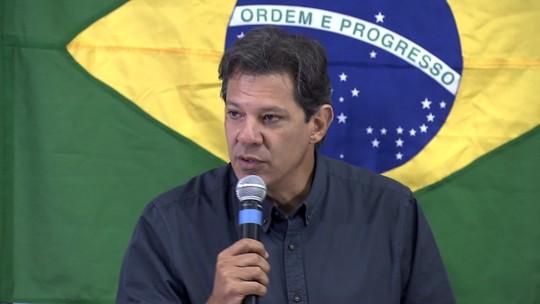 Veja as atividades de campanha do candidato à presidência pelo PT, Fernando Haddad