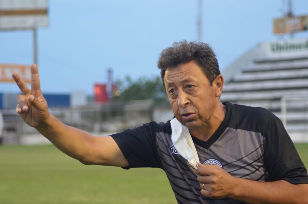 Lorival Santos fala da conquista do ASA — Foto: Assessoria/ASA