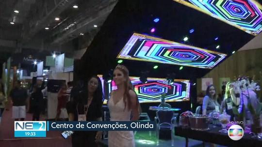 Feira em Olinda apresenta novidades no ramo de festas de casamento