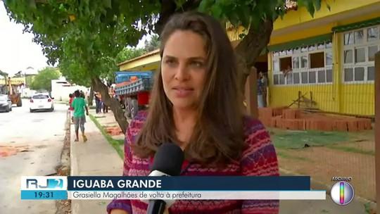 Grasiella Magalhães é afastada e vice assume a Prefeitura de Iguaba Grande, no RJ