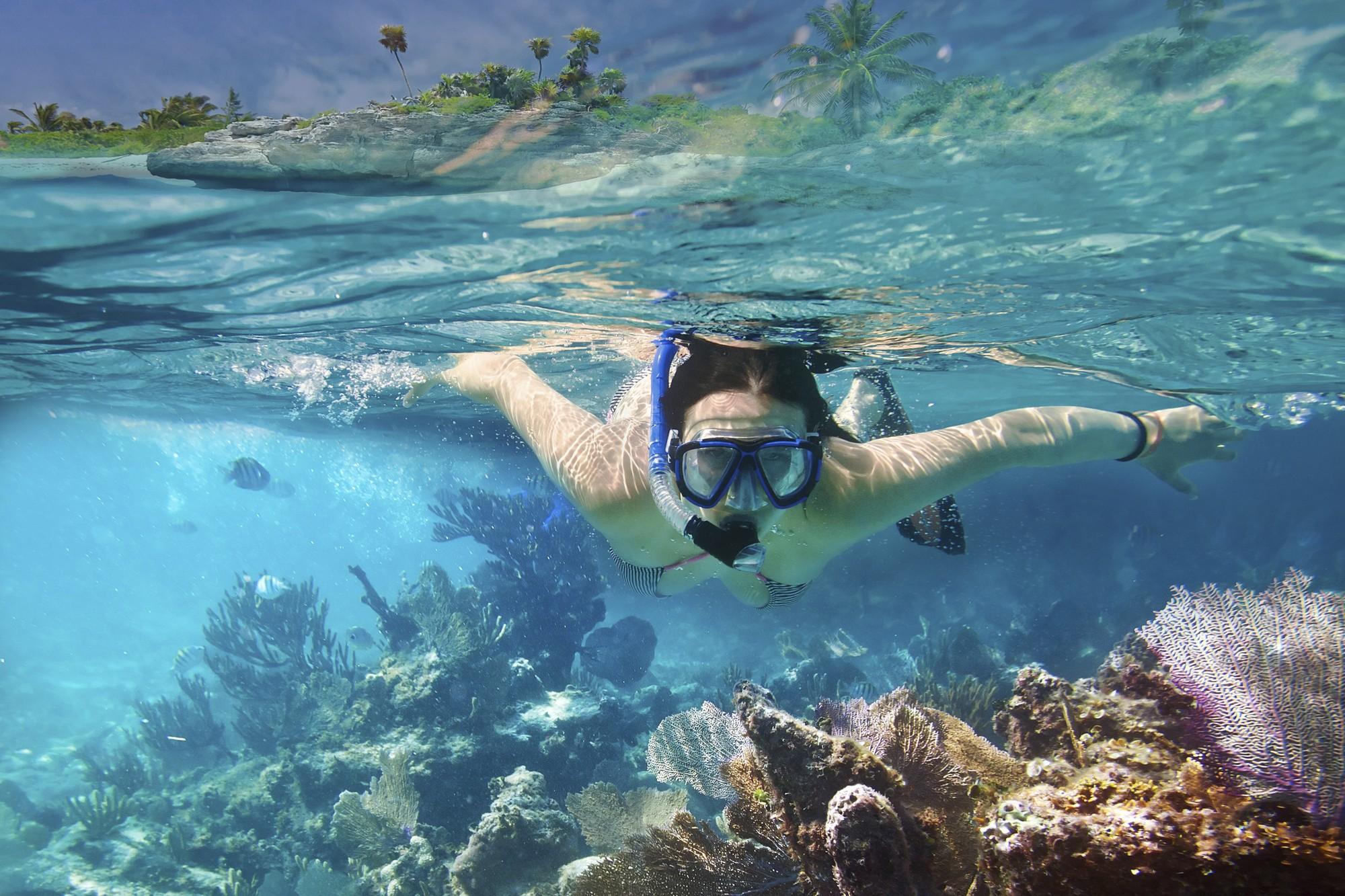 snorkeling, mergulho, praia, verão, férias, viagem (Foto: Thinkstock)