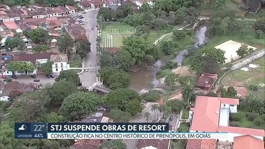 STJ suspende obras de resort de luxo em Pirenópolis