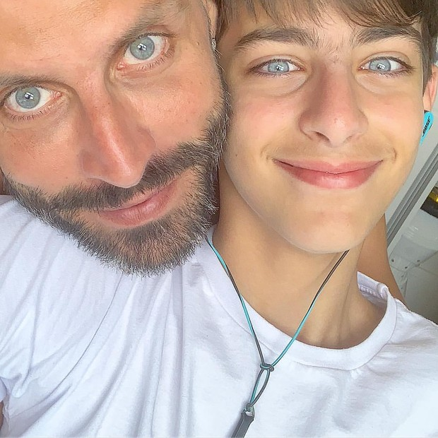 Henri Castelli e Lucas (Foto: Reprodução/Instagram)