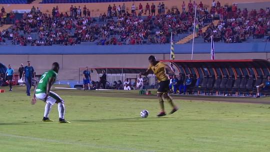 Os gols de Vila Nova 1 x 1 Guarani pela 29ª rodada da Série B