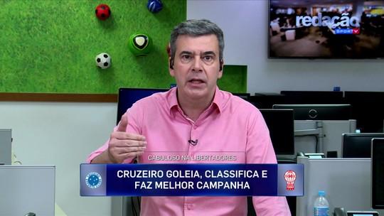 """Redação SporTV destaca atuações de Fred nos últimos jogos do Cruzeiro: """"Ele é matador"""""""