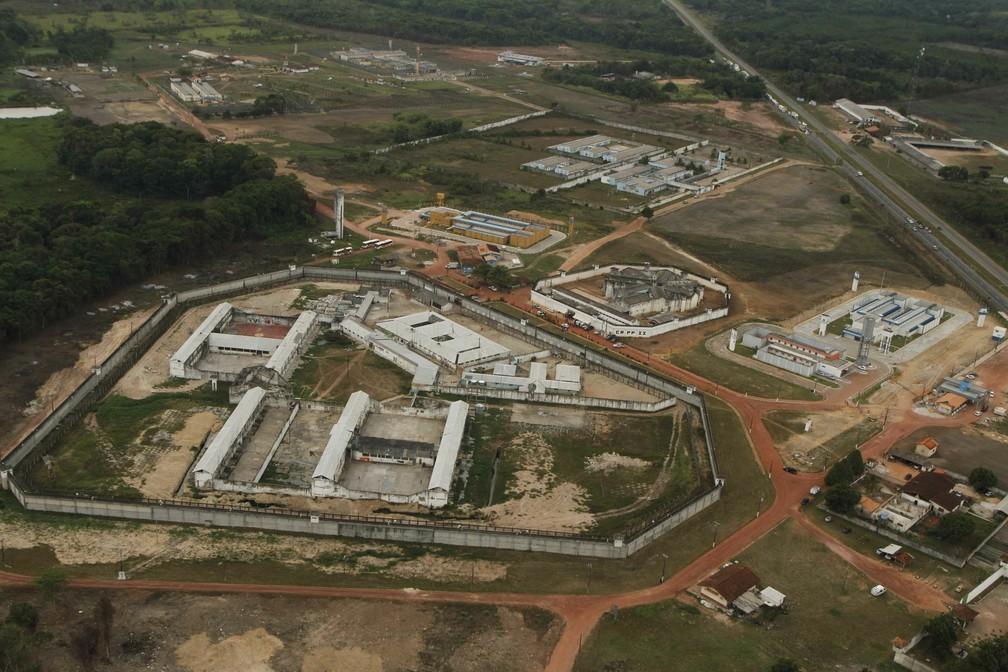 Tentativa de fuga deixou mortos no Complexo Prisional de Santa Izabel (Foto: Oswaldo Forte/O Liberal)
