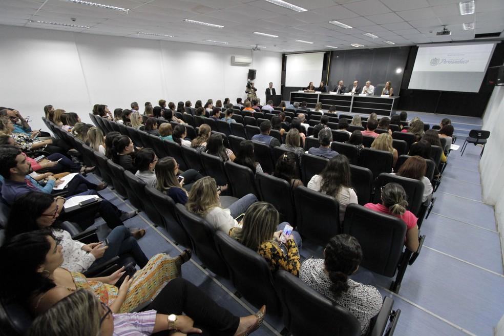 Plano de Enfrentamento das Arboviroses para 2018 foi lançado nesta terça (28) em Pernambuco (Foto: Miva Filho/Secretaria Estadual de Saúde/Divulgação)