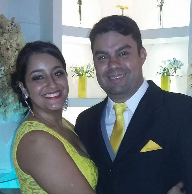 Ágatha e Anderson (Foto: Facebook)