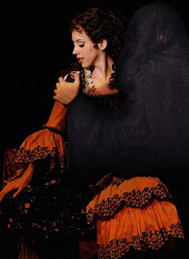 Kiara Sasso como Christine em 'O Fantasma da Ópera' (Foto: Divulgação)