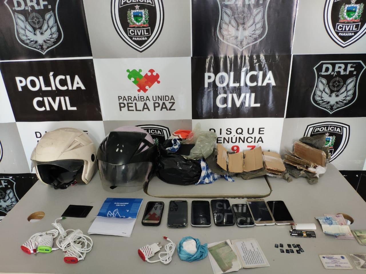 Grupo é detido suspeito de tentar arremessar drogas para o presídio Serrotão, em Campina Grande - Notícias - Plantão Diário