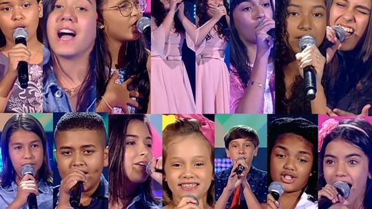 'The Voice Kids': participantes se divertem ao se verem na TV em suas Audições às Cegas