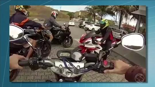 Motociclista sofre acidente na Via Dutra, no Sul do Rio, a 190 km/h; vídeo