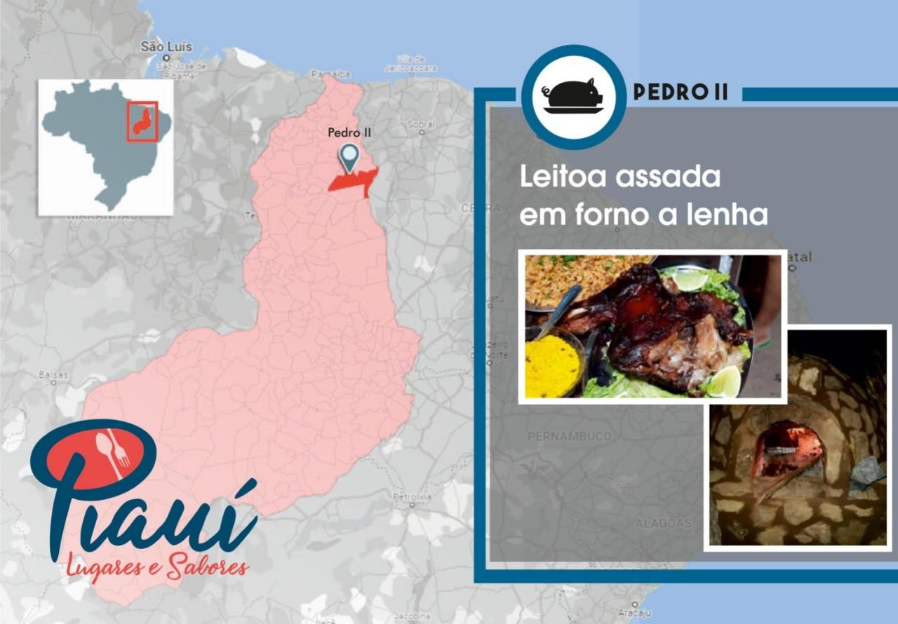 Piauí Lugares e Sabores: Pedro II tem clima de serra, paisagens incríveis e leitoa assada que leva 2 dias para ser feita